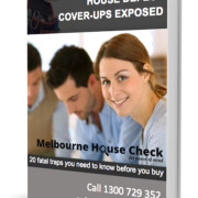 House defect cover ups exposed