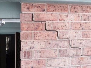 cracked brickwork house inspection