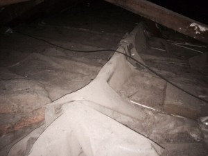 unsafe roof wiring 2